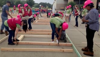 Volunteers Unite for Women Build Week and Habitat for Humanity