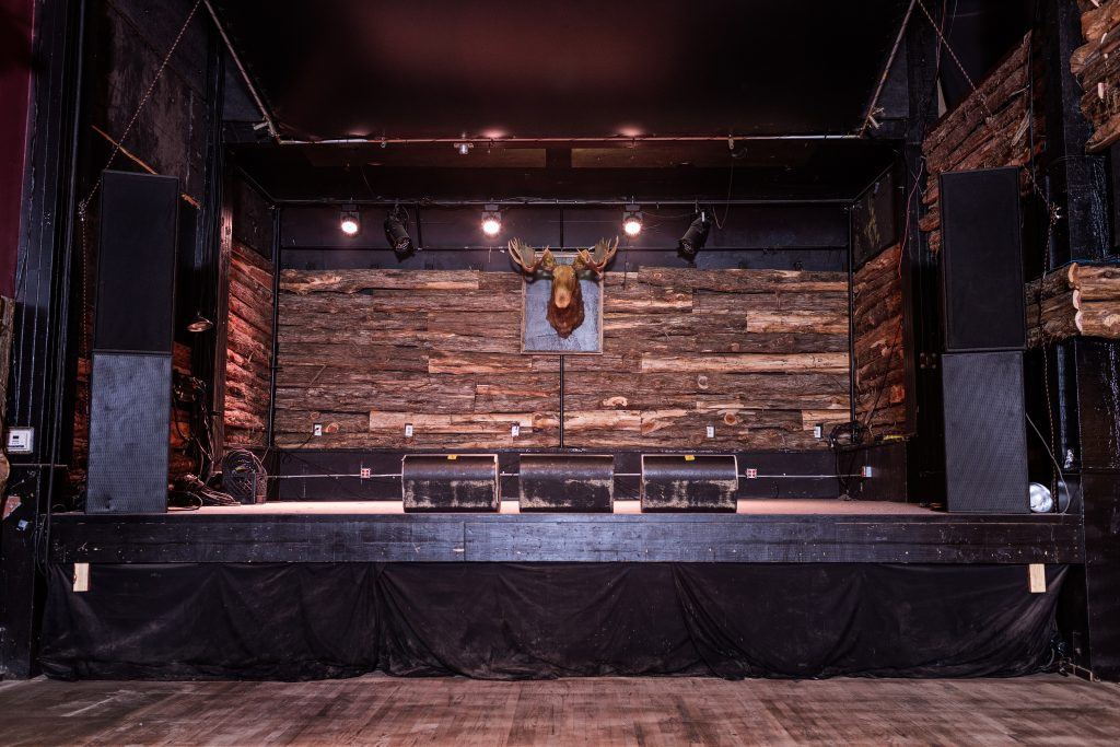 Grizzly Hall Performance Stage Austin