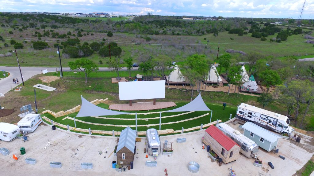 Outdoor Theater at Community First Village in Austin