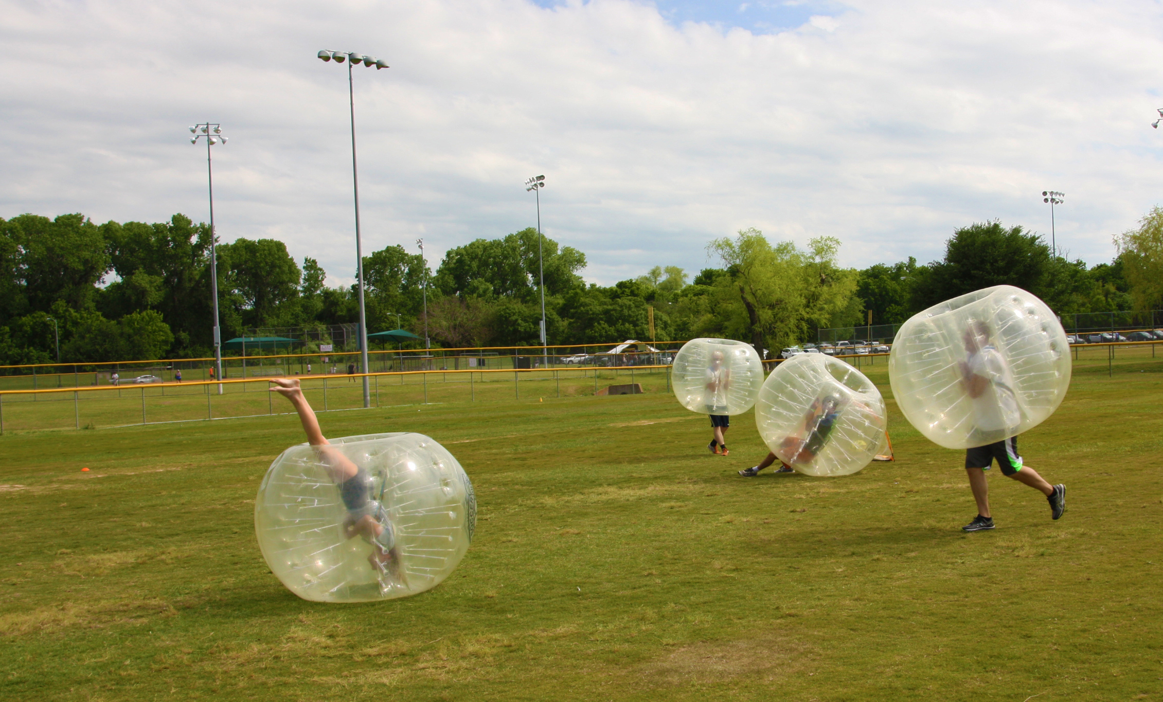 Bubble Soccer Camp Our Way