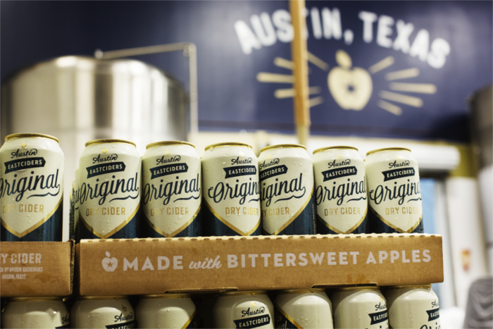 Austin Eastciders Canned Dry Cider (Credit: Brian Nevins)