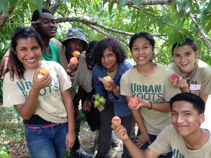 Urban Roots Farm Interns
