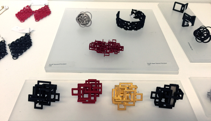 3D Printed Jewelry by Melissa Borrell