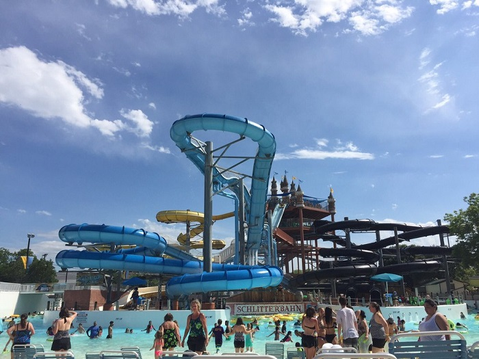 Schlitterbahn in New Braunfels, TX