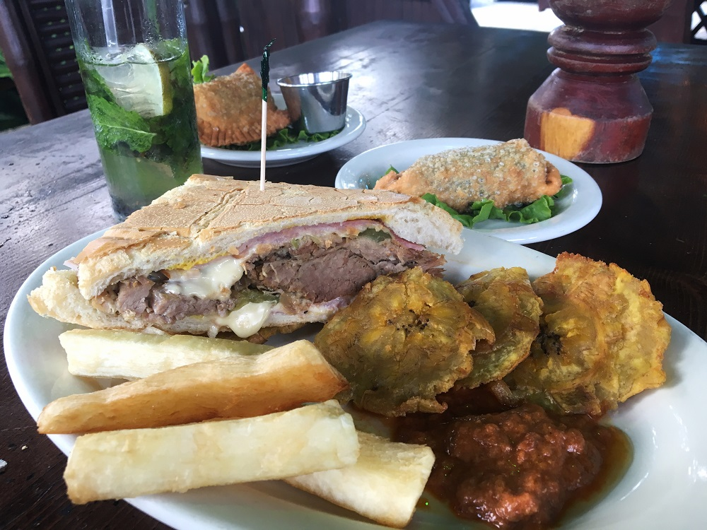 Cuban Sandwich at Habana in Austin TX