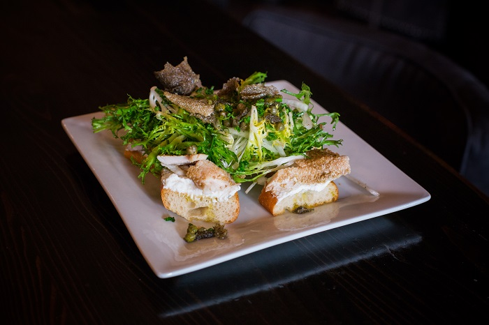 The Townsend Trout on Toast