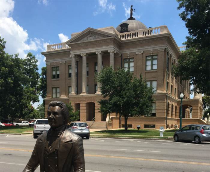 Williamson County Courthouse Georgetown Texas