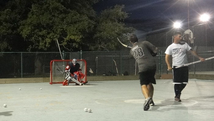Texas Ball Hockey at Tumlinson Park