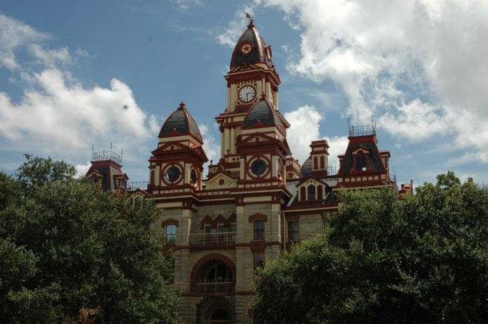 Caldwell County Courthouse in Lockhart, Texas