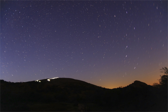 Stargazing at Enchanted Rock State Natural Area