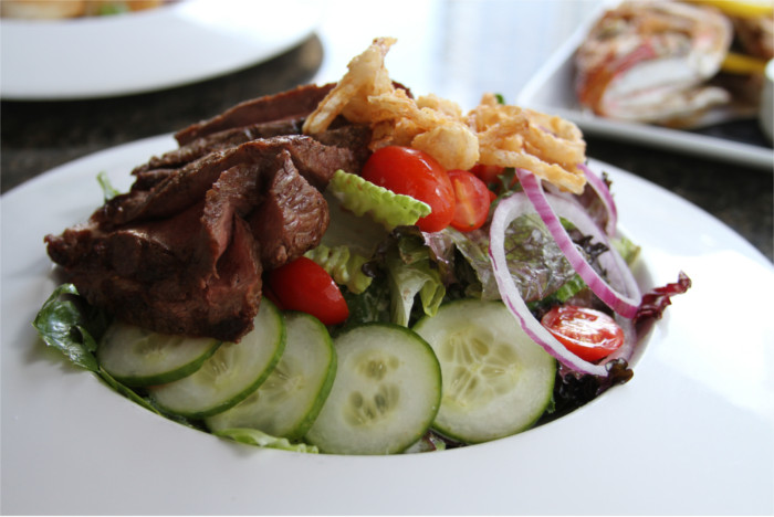 Grilled Steak Salad at Vince Young Steakhouse