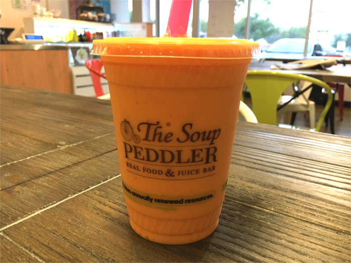 Mango Peach Smoothie from The Soup Peddler