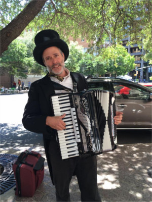Accordion Player Austin
