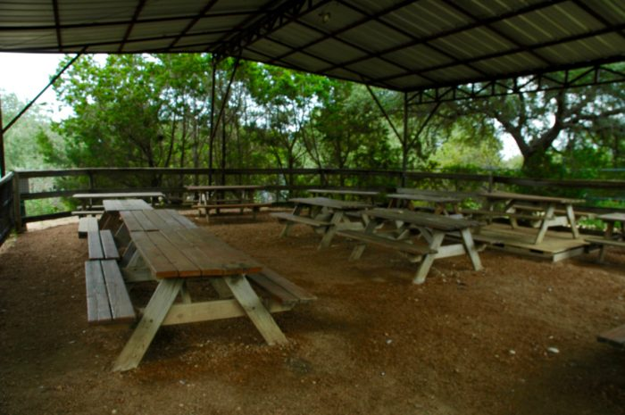 Event and Picnic Area at Austin Zoo