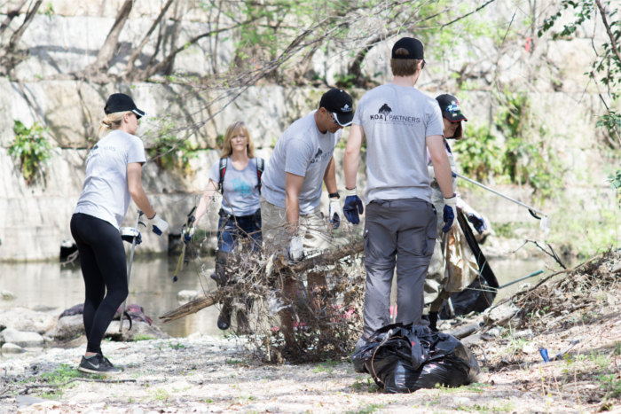Waller Creek Clean up