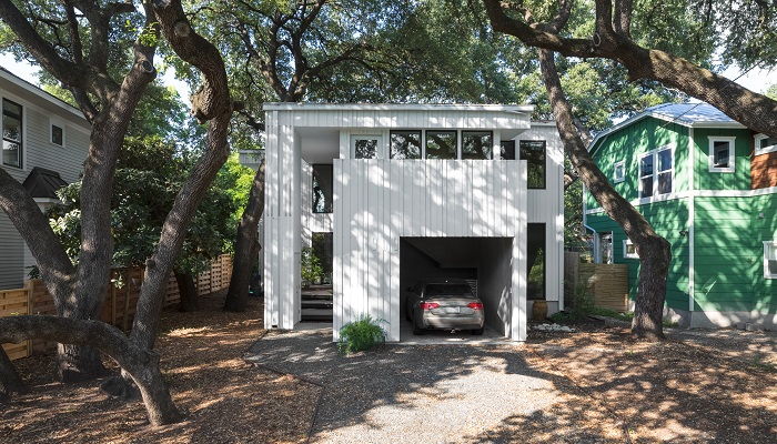 Webber + Studio's Home in Bouldin neighborhood