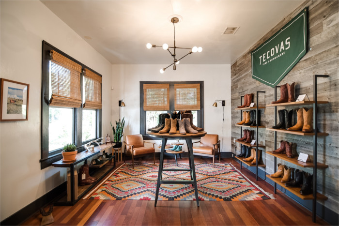 Tecovas Showroom in Austin