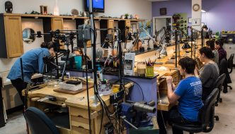 Skill Levels Converge at Creative Side Jewelry Academy in Austin