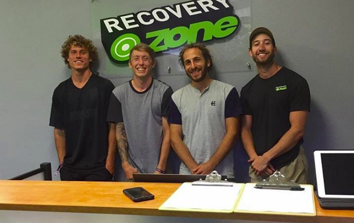 Pro BMXers Try Cryotherapy in Austin