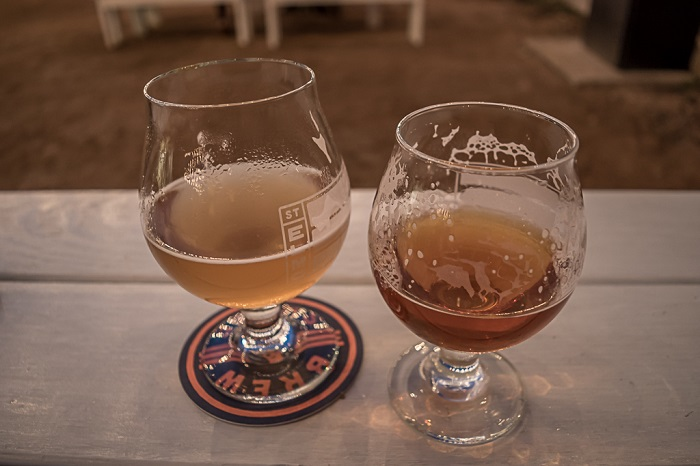 St Elmo Brewing Beer Glasses