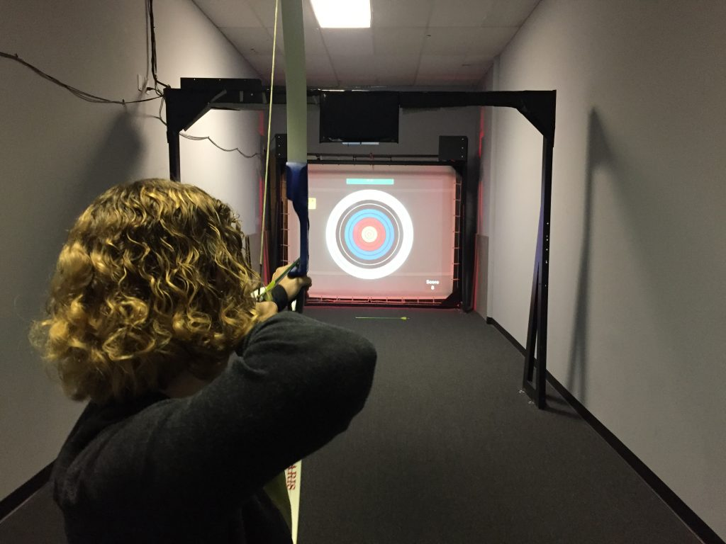 Archery Practice at Safe Range in Round Rock
