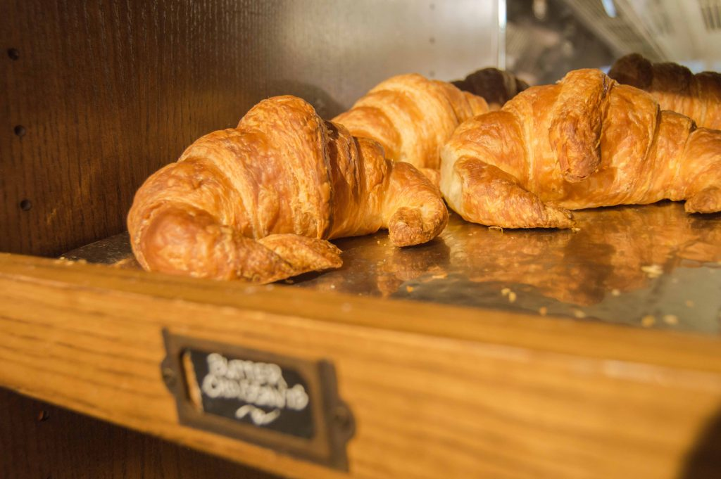 Croissant at 1886 Cafe and Bakery