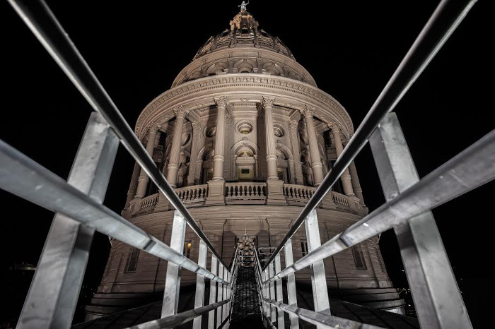 Drazah Texas State Capitol Night Photograph