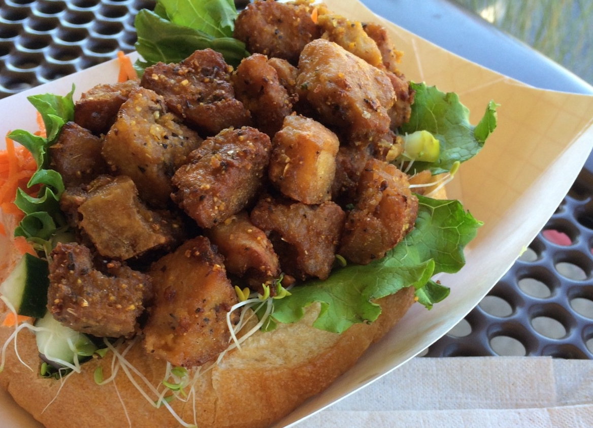 Wheatsville Co-op Tofu Po Boy