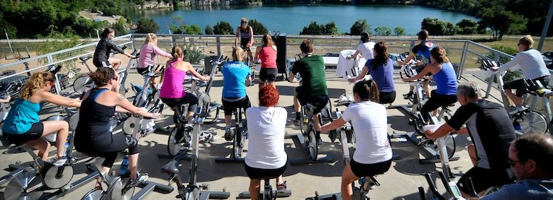 Holiday Recovery With Pure Fitness Austin Spin Class