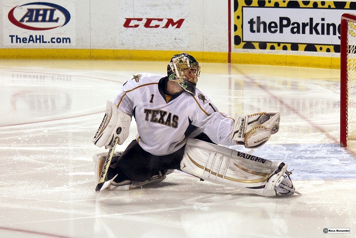 Texas Stars Hockey Goalie