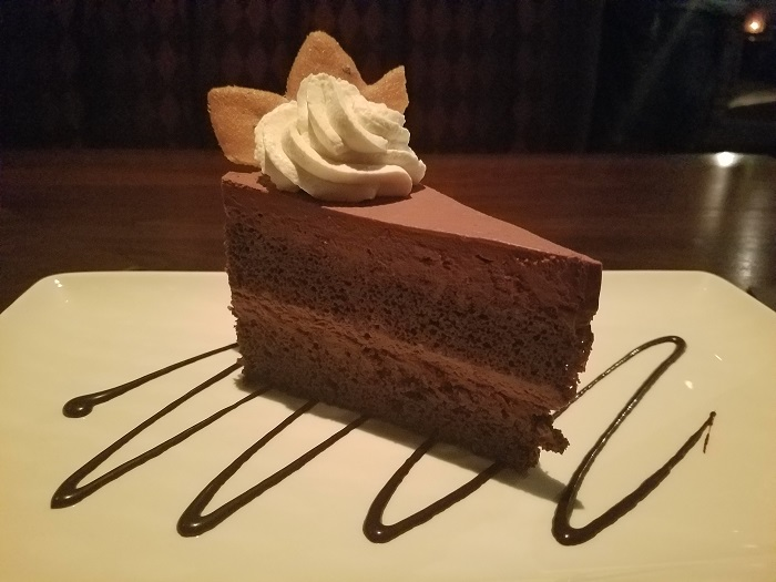 Vince Young Steakhouse Chocolate Cake