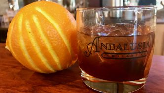 Settle Down With Glass in Hand at Andalusia Whiskey Co. in Blanco