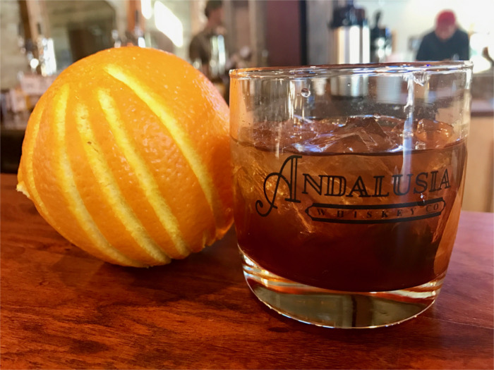 Andalusia Whiskey Old Fashioned