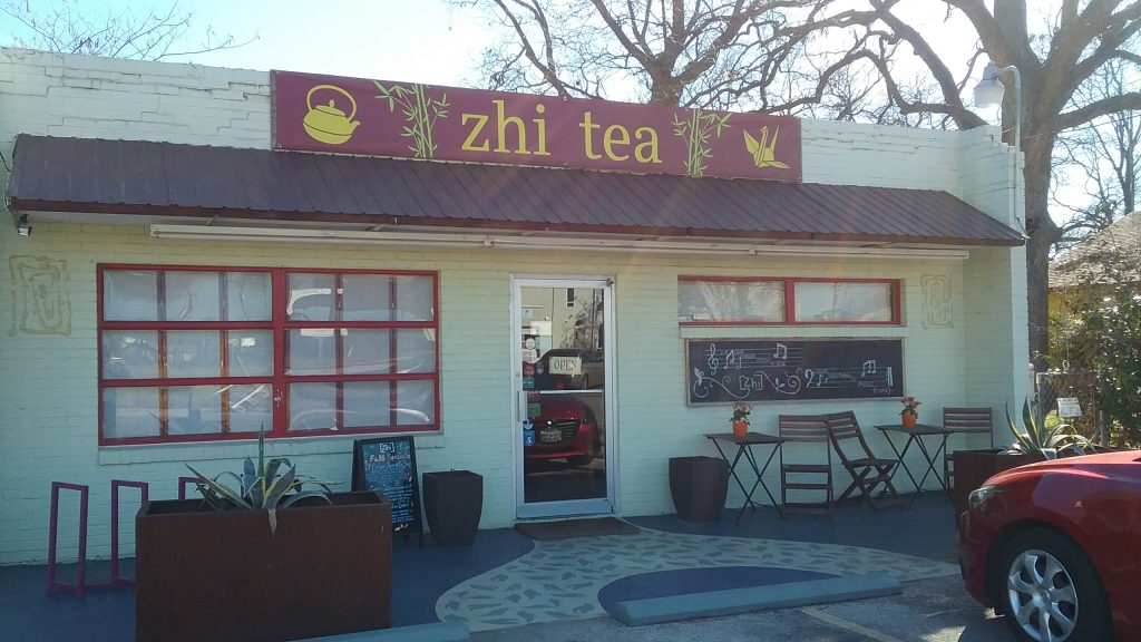 zhi tea when it's cold in austin