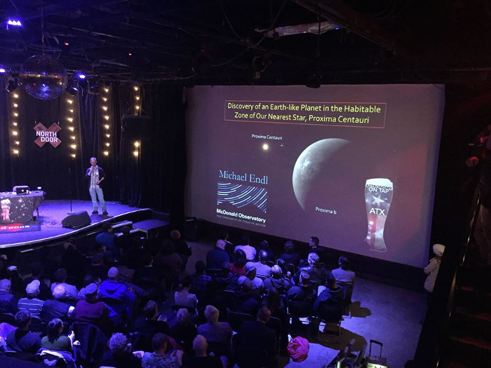 Astronomy on Tap North Door Austin