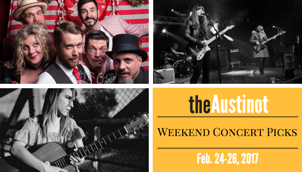 Austin Weekend Concert Picks