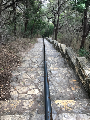 Mount Bonnell Staircase