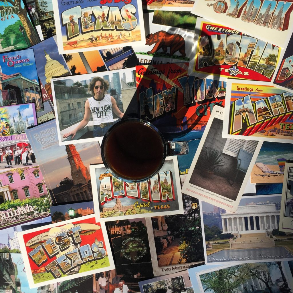 Postcards and Coffee