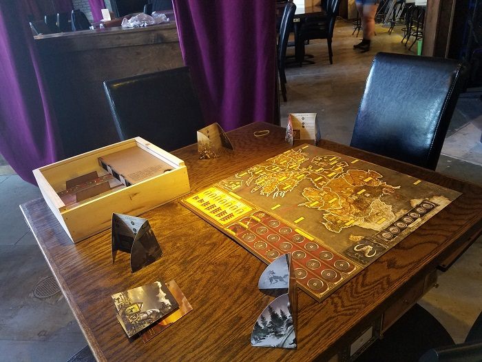 Table Top at Vigilante Gaming Bar