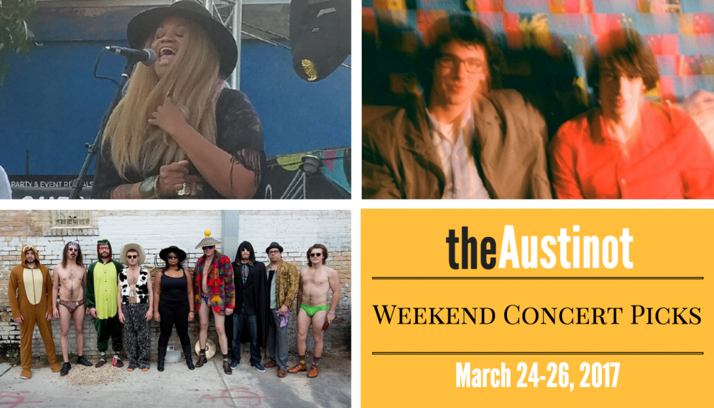 Austin Weekend Concert Picks March 24 2017