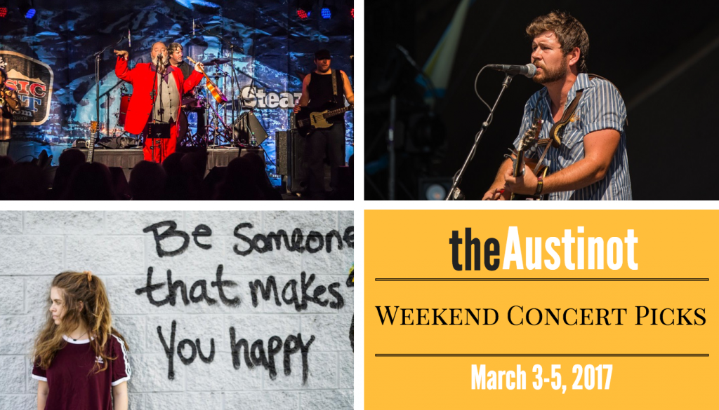 Austin Weekend Concert Picks March 3