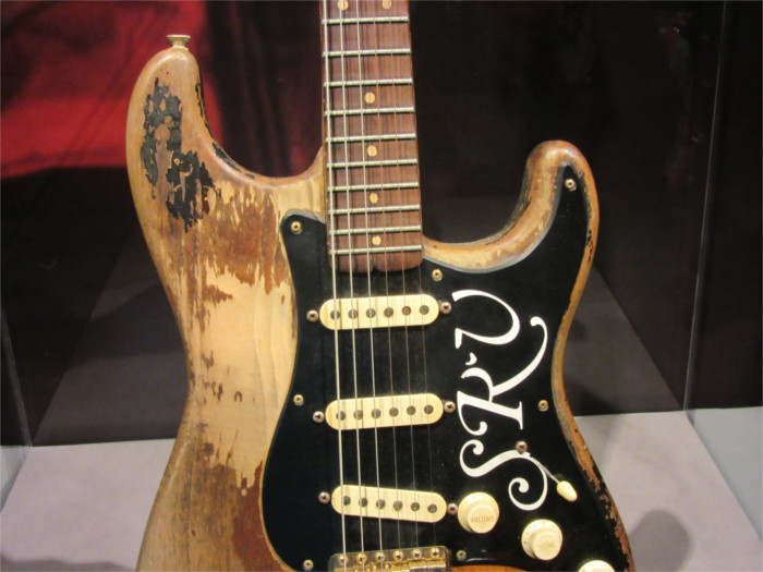 Stevie Ray Vaughan's Number One Stratocaster Guitar