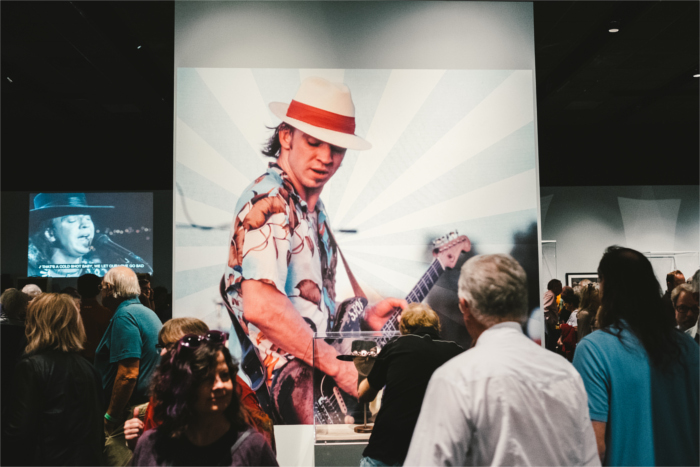 Stevie Ray Vaughan Exhibit at Bullock Museum in Austin