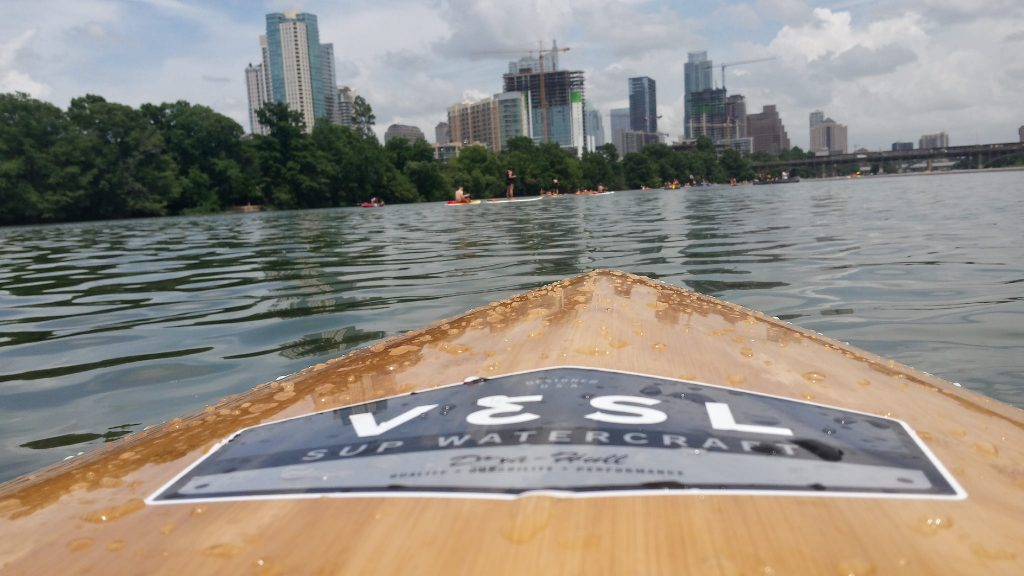 SUP on Lady Bird Lake
