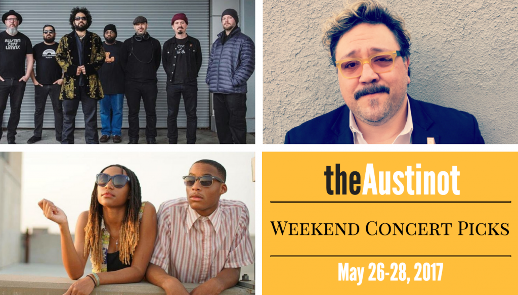 Austin Weekend Concert Picks May 26