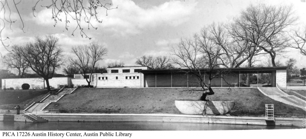 Barton Springs Bathhouse in 1947