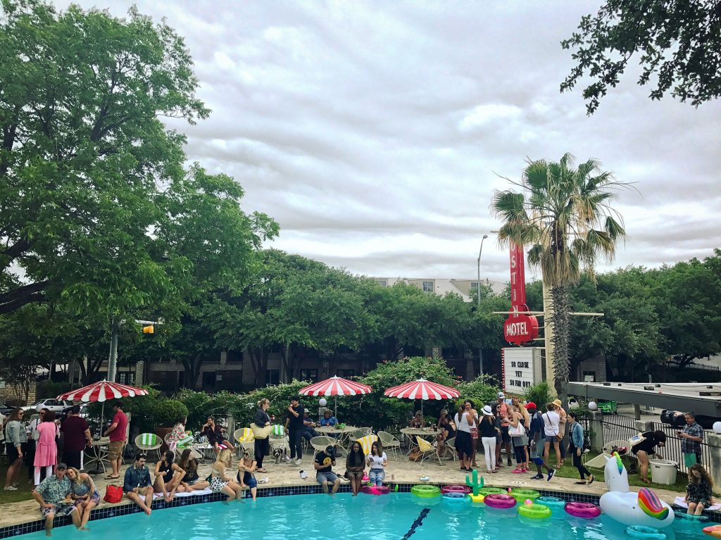 Hot Luck Festival Pool Party at Austin Motel