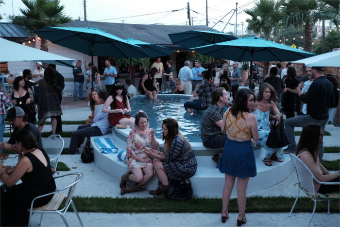 Kitty Cohen's Outdoor Patio for Happy Hour