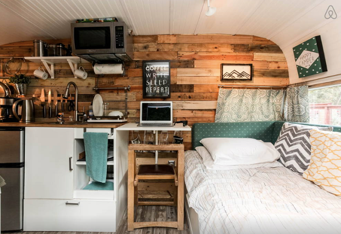 Austin Glamping on AirBnB