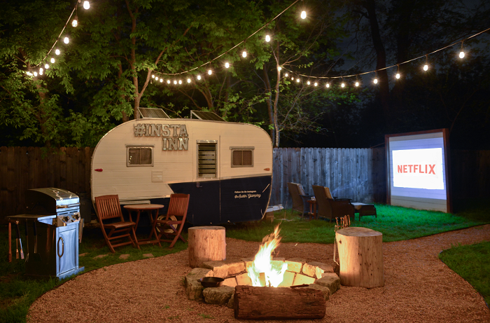 Austin glamping properties on AirBnB